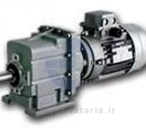 گیربكس حلزونی TRANSTECNO سری CM  (TRANSTECNO Helical-Worm Gearmotor, CM Series)
